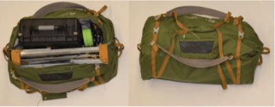 Kijenzi 3D-Drucker in einer Tasche