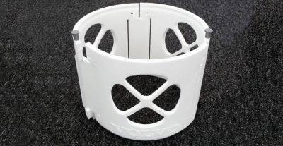 3D-Druck-Bauteil von Volvo CE