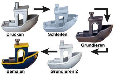 5 Schritte zum 3D-Objekt bemalen