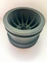 Ein aus PEKK Carbon gedrucktes Objekt