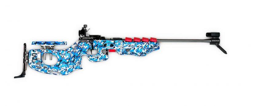Biathlongewehr aus dem 3D-Drucker
