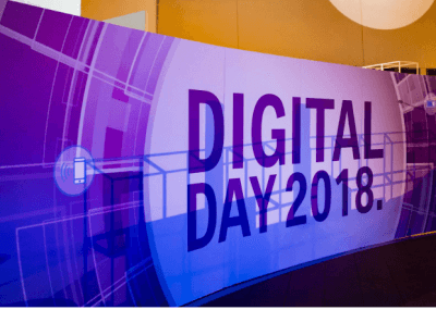DIgital Day 2018 Schild