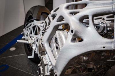 weitere Ansicht des 3D-gedruckten Rahmens
