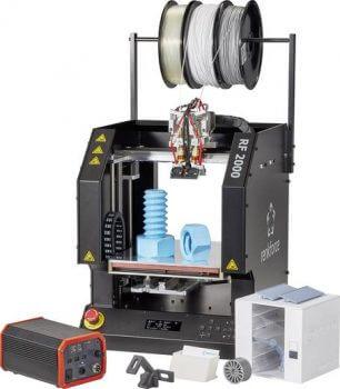 Abbildung eines RF 2000 v2 von Conrad Business Supplies mit gedruckten kleinen Objekten