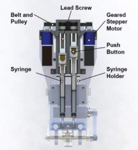 der Bioprinter und seine Details