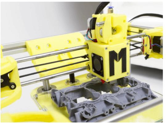 der Mark One 3D-Drucker in Aktion
