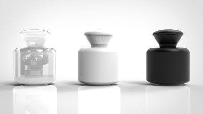 3 Behälter mit High Precision Resin