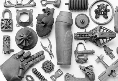 3D-gedruckte Objekte mit Lisa 2