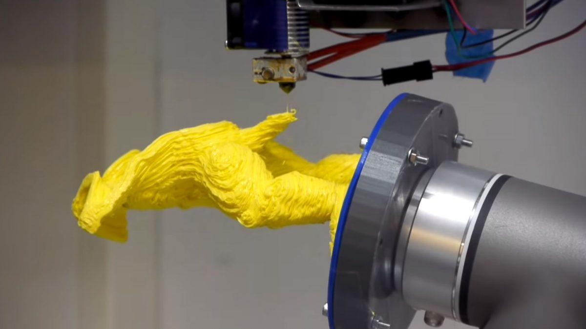 TU Delft entwickelt Multi-Achsen-Roboter-3D-Drucker-System für 3D-Druck ohne Stützstrukturen