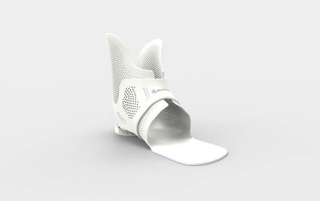 Abbildung einer Knöchel-Fuß-Orthese