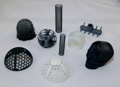 Beispiele von 3D-gedruckten Objekten