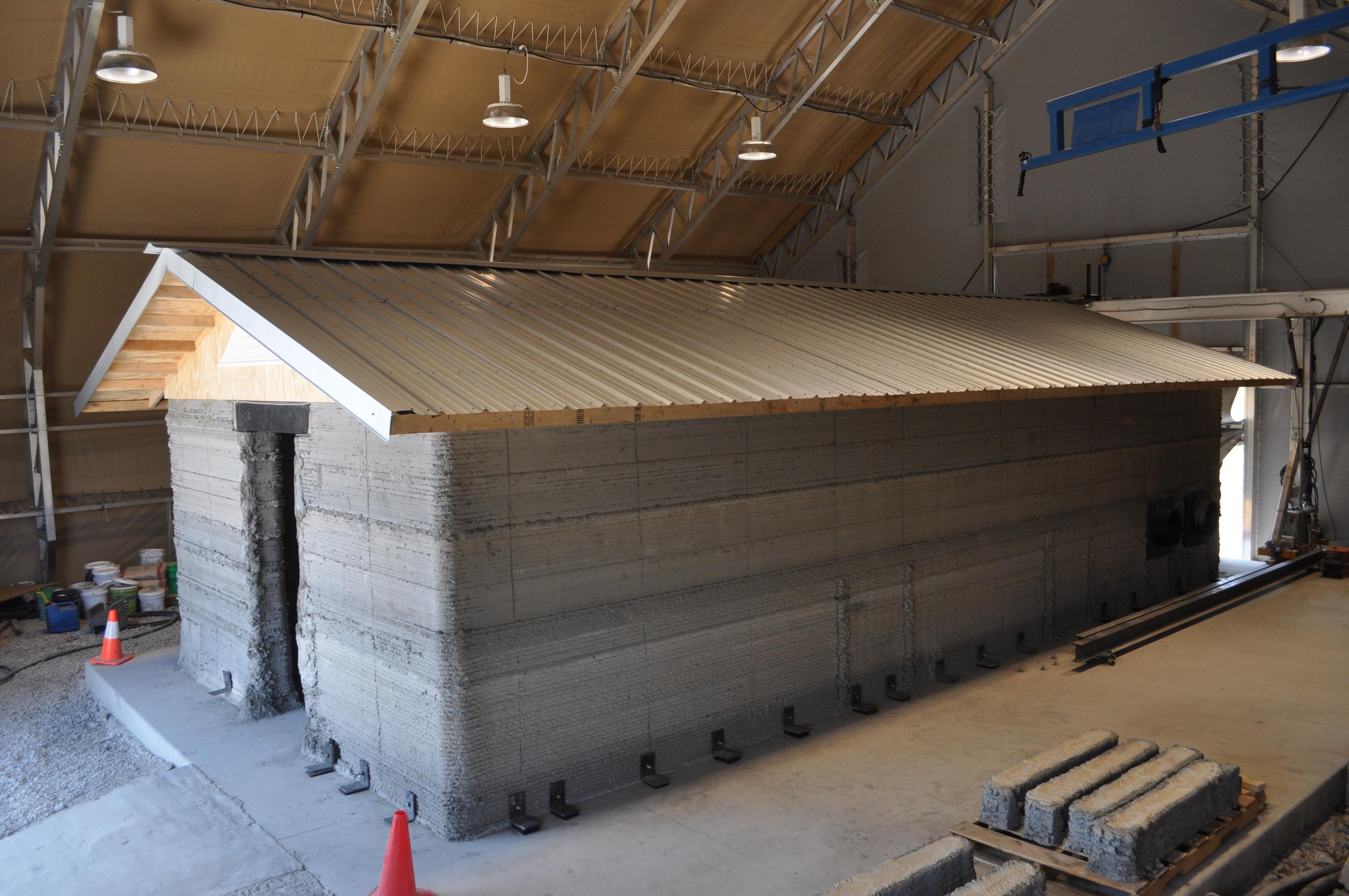 3D-gedruckte Kaserne