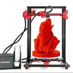 3D-Objekt im Alfawise U20 3D-Drucker