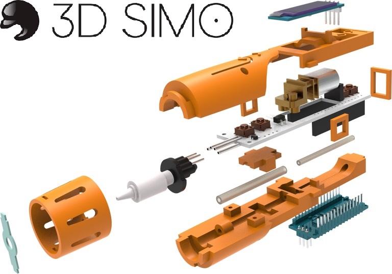 3d simo stellt mit 3dsimo kit einen 3d stift bausatz vor. Black Bedroom Furniture Sets. Home Design Ideas