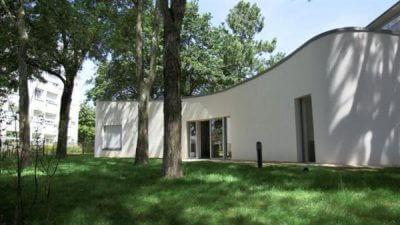 Ansicht des Hauses von außen