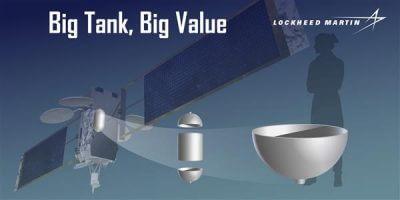 Big Tank Big Value, und eine Abbildung vom Tank