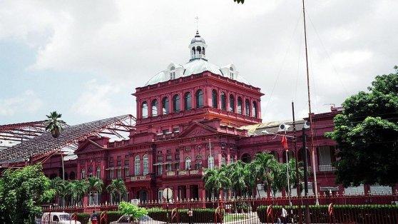 Das Rote Haus in Trinidad