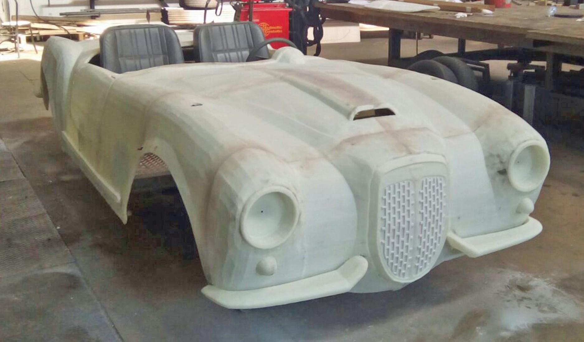 3D-gedruckte Replik des Lancia B24 für die Oper