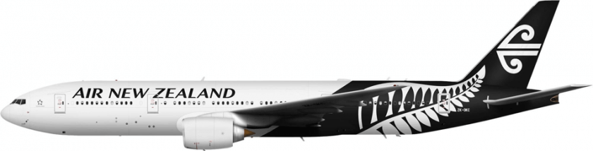 Air New Zealand Flugzeug 3D Druck
