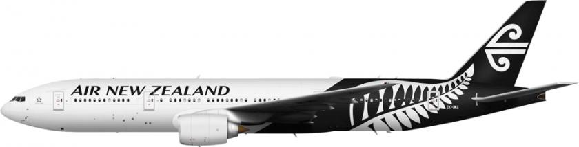 Air New Zealand Flugzeug 3D Druck