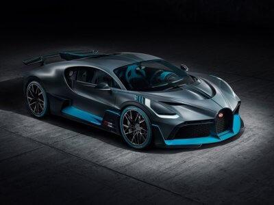 Bugatti Divo Seitenansicht