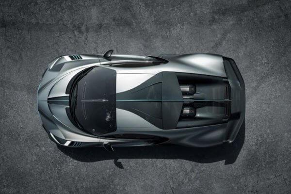 Bugatti Divo Ansicht von oben
