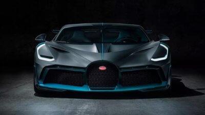Bugatti Divo Ansicht von vorne