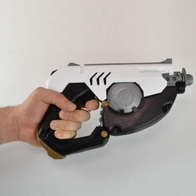 Cosplay Waffe 3D gedruckt von Simone Fontana
