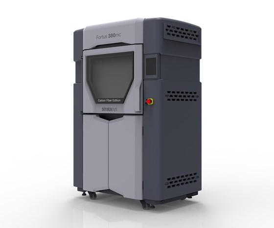 Bild des Fortus 380mc CFE 3D-Druckers