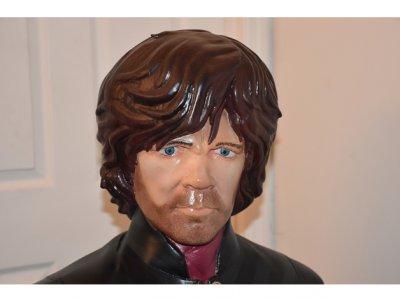 Kopf 3D-gedruckter Lannister