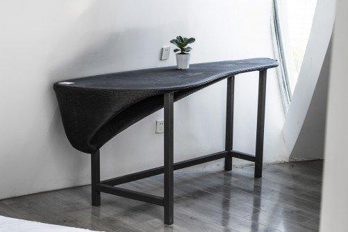 Ansicht eines Tisches aus dem Lotus House