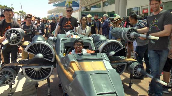MASSIVit Vedant im Star Wars Kostüm