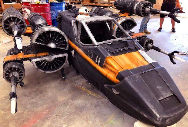 Star Wars Rollstuhlkostüm