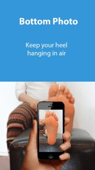 Anleitung zum Fotografieren der Fußsohle