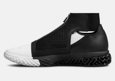 Seitenansicht eines Schuhes der ArchiTech Futurist Ray Lewis Edition