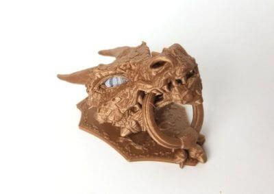 Beispiel eines 3D-gedruckten Objekts
