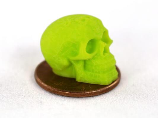 Mini-Totenkopf aus dem 3D-Drucker