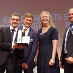 Multiphoton Optics beim Auszeichnung beim Best Industry Award 2018