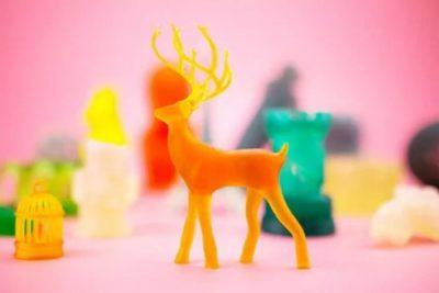 SLA-3D-Objekte vom SparkMaker-3D-Drucker