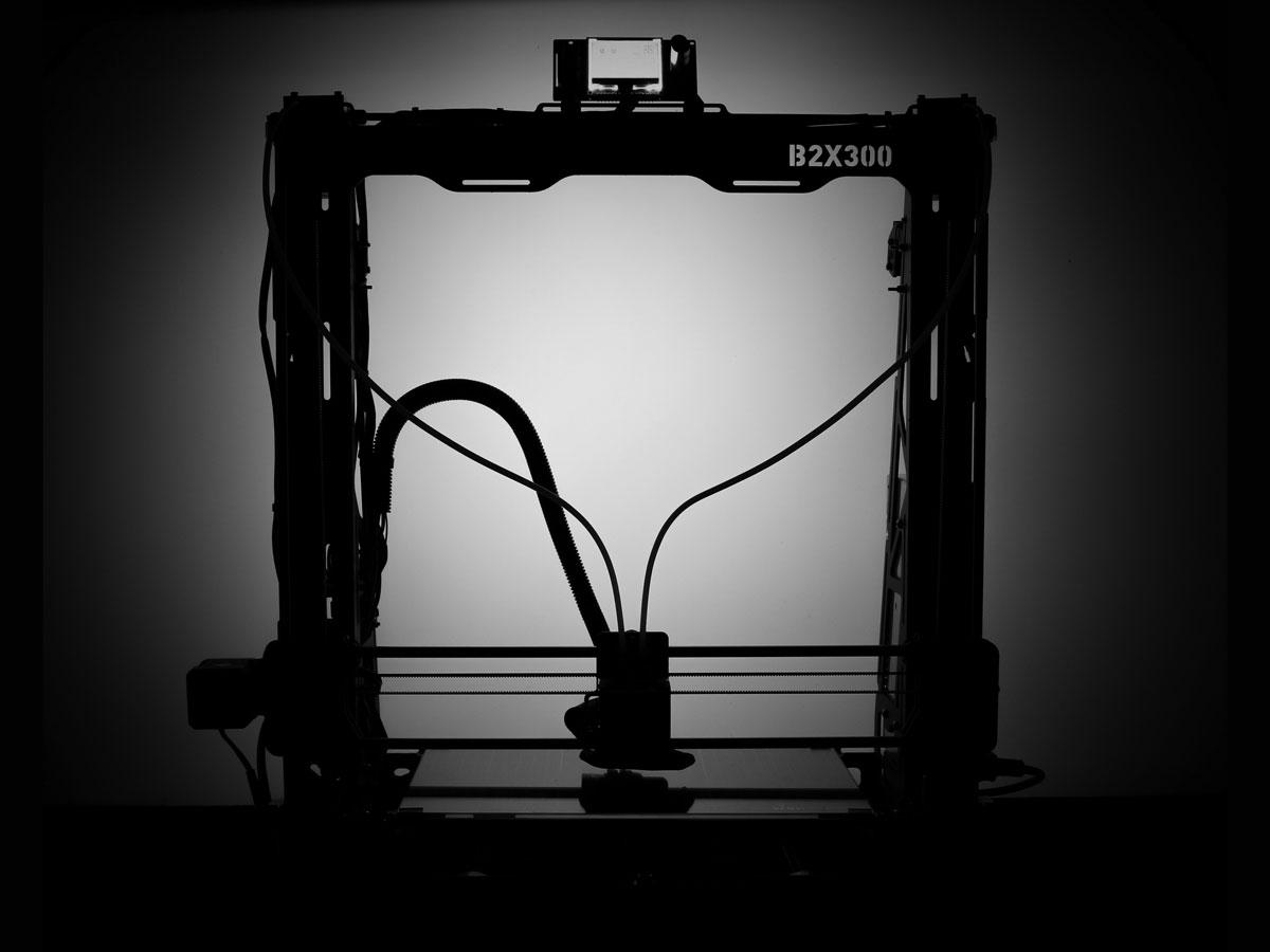 Bild des B2X300 3D-Drucker Bausatzes