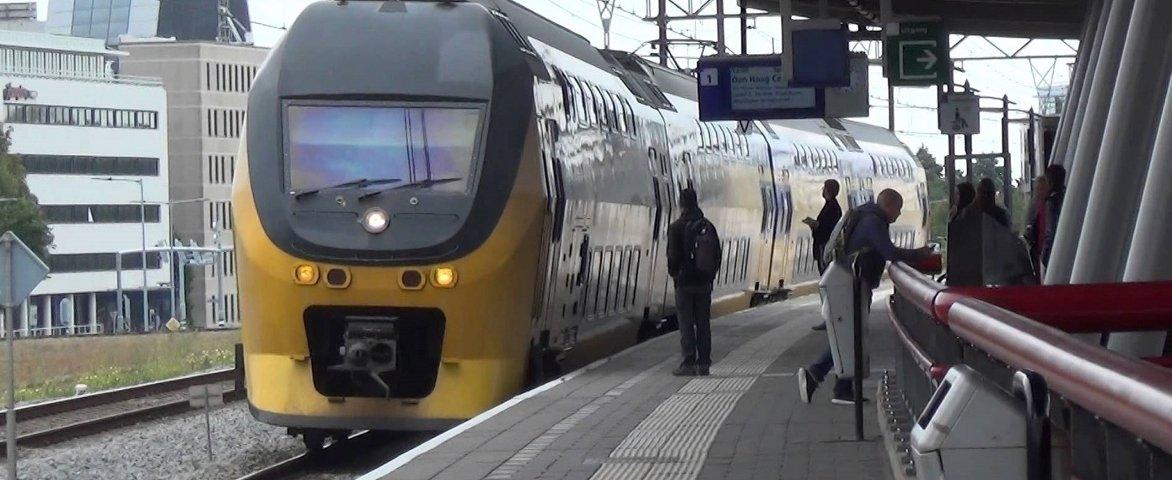 Holländische Bahn Bild eines Zuges