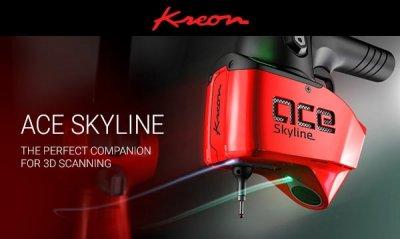 Werbebild Skyline 3D-Scanner von Kreon