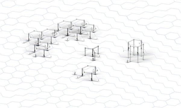 Module des Crane WASP Infinity 3D-Druckers