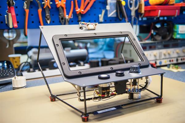 3D-gedrucktes Bauteil für Zug