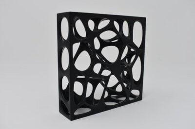 3D-Objekt nach Bearbeitung mit PostPro3D