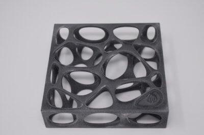 3D-Objekt vor Bearbeitung mit PostPro3D