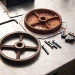 3D-gedruckte Kupferobjekte