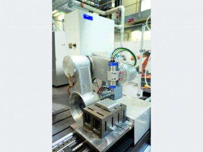 Ein Gerät, das beim Prozess zum Einsatz kommt