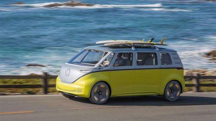 VW ID Buzz von der Seite