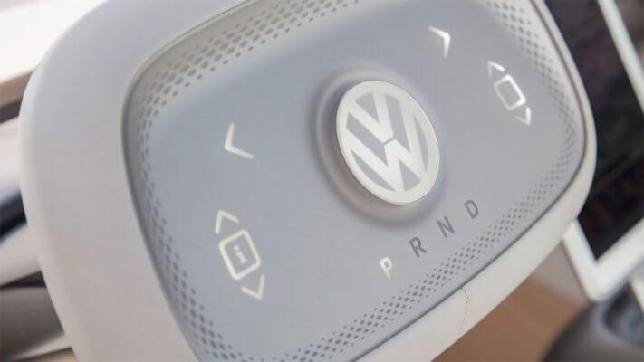 VW 3D-gedrucktes Lenkrad